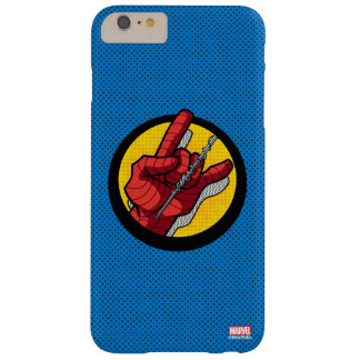 Spider-Man Web Slinging Hand Icon Barely There iPhone 6 Plus Case