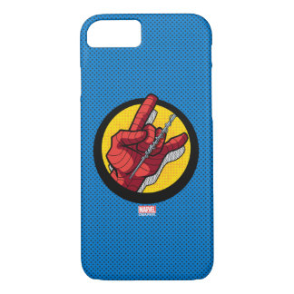 Spider-Man Web Slinging Hand Icon iPhone 8/7 Case