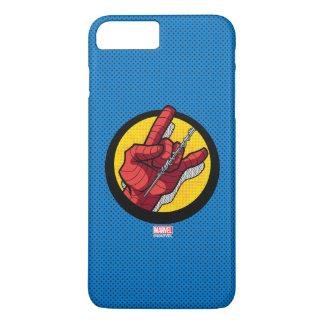 Spider-Man Web Slinging Hand Icon iPhone 8 Plus/7 Plus Case