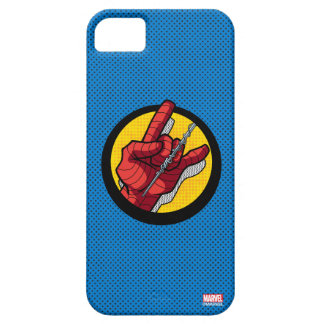 Spider-Man Web Slinging Hand Icon iPhone SE/5/5s Case