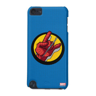 Spider-Man Web Slinging Hand Icon iPod Touch (5th Generation) Case