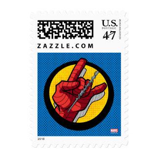 Spider-Man Web Slinging Hand Icon Postage
