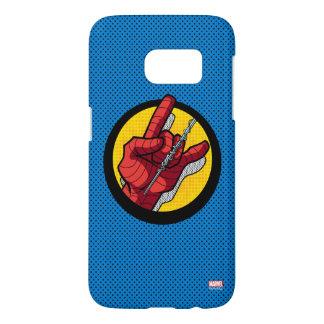 Spider-Man Web Slinging Hand Icon Samsung Galaxy S7 Case