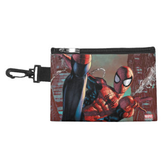 Spider-Man Web Slinging In City Marker Drawing Accessory Bags