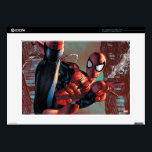 "Spider-Man Web Slinging In City Marker Drawing Decals For 15&quot; Laptops<br><div class=""desc"">Spider-Man 