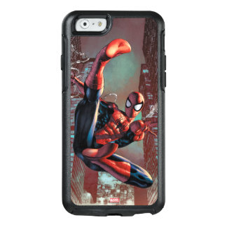 Spider-Man Web Slinging In City Marker Drawing OtterBox iPhone 6/6s Case