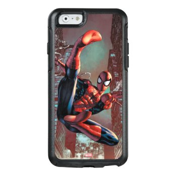 Spider-man Web Slinging In City Marker Drawing Otterbox Iphone 6/6s Case by SpiderManClassics at Zazzle