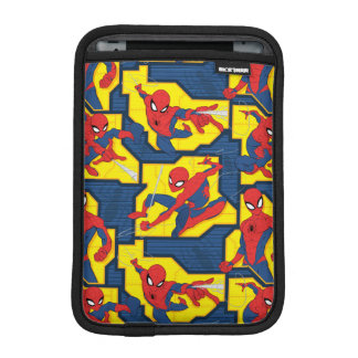 Spider-Man Web Slinging Panel Pattern iPad Mini Sleeve