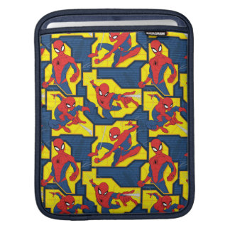 Spider-Man Web Slinging Panel Pattern iPad Sleeve