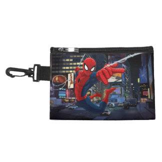 Spider-Man Web Slinging Through Traffic Accessory Bag