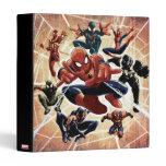 Spider-Man Web Warriors Attack 3 Ring Binder