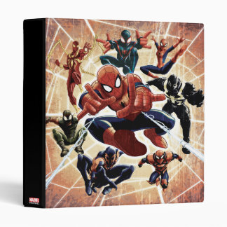 Spider-Man Web Warriors Attack 3 Ring Binder