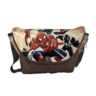 Spider-Man Web Warriors Attack Courier Bag