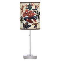 Spider-Man Web Warriors Attack Desk Lamp