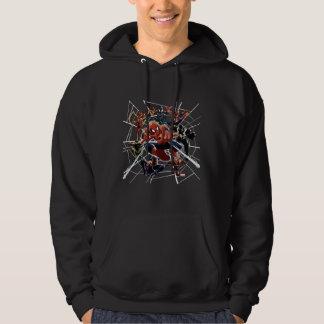 Spider-Man Web Warriors Attack Hoodie