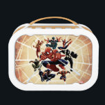 "Spider-Man Web Warriors Attack Lunch Box<br><div class=""desc"">Spider-Man | Spider-Man and the Web Warriors: Miles Morales,  Spider-Girl,  Agent Venom,  Spyder-Knight,  Spider-Man 2099,  Spider-Man Noir,  and Iron Spider!</div>"