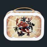 "Spider-Man Web Warriors Attack Lunch Box<br><div class=""desc"">Spider-Man   Spider-Man and the Web Warriors: Miles Morales,  Spider-Girl,  Agent Venom,  Spyder-Knight,  Spider-Man 2099,  Spider-Man Noir,  and Iron Spider!</div>"