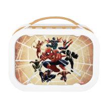 Spider-Man Web Warriors Attack Lunch Box