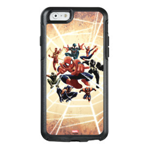 wholesale dealer cee79 be266 Spider-Man Web Warriors Attack OtterBox iPhone 6/6s Case