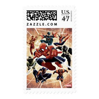 Spider-Man Web Warriors Attack Postage