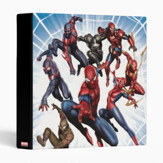 Spider-Man Web Warriors Gallery Art 3 Ring Binder