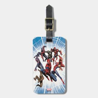 Spider-Man Web Warriors Gallery Art Bag Tag