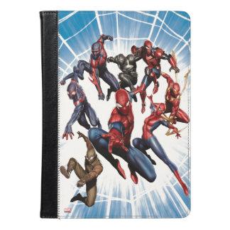 Spider-Man Web Warriors Gallery Art iPad Air Case