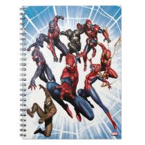 Spider-Man Web Warriors Gallery Art Notebook