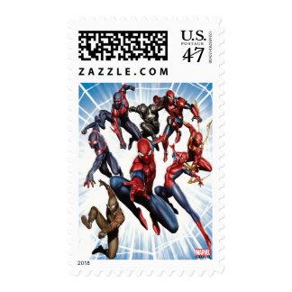 Spider-Man Web Warriors Gallery Art Postage
