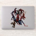 Spider-Man Web Warriors Gallery Art Sticker