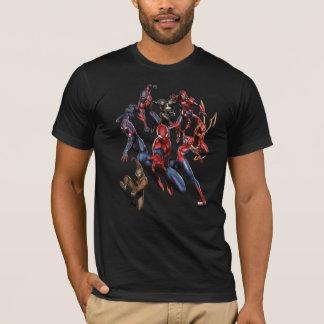 Spider-Man Web Warriors Gallery Art T-Shirt