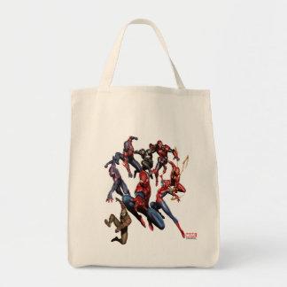 Spider-Man Web Warriors Gallery Art Tote Bag