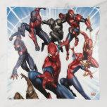 Spider-Man Web Warriors Gallery Art Trinket Trays