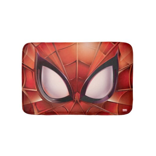 Spider-Man Webbed Mask Bath Mat