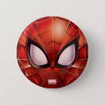 Spider-Man Webbed Mask Pinback Button