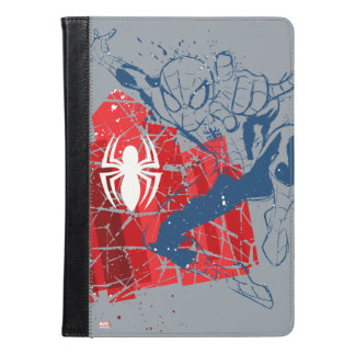 Spider-Man Worn Graphic iPad Air Case