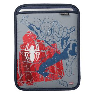 Spider-Man Worn Graphic iPad Sleeve