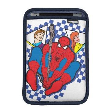 Spider-Man's Peter Parker & Mary Jane Retro Art iPad Mini Sleeve
