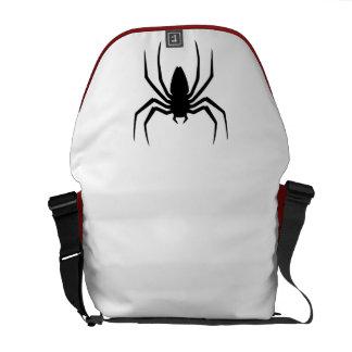Spider messenger bag