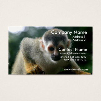 Spider Monkey Business Cards & Templates | Zazzle