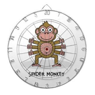 Spider Monkey Dart Board