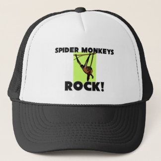 Spider Monkeys Rock Trucker Hat