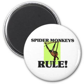 SPIDER MONKEYS Rule! Refrigerator Magnets