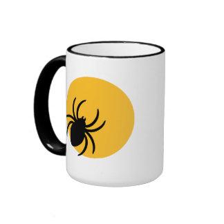Spider moon ringer coffee mug