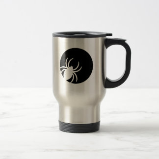 Spider moon night 15 oz stainless steel travel mug