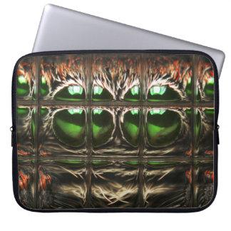 Spider mosaic laptop sleeve