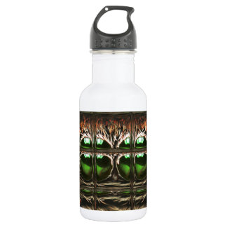 Spider mosaic stainless steel water bottle