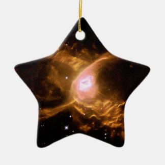 Spider Nebula Ceramic Ornament