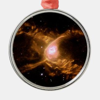 Spider Nebula Metal Ornament