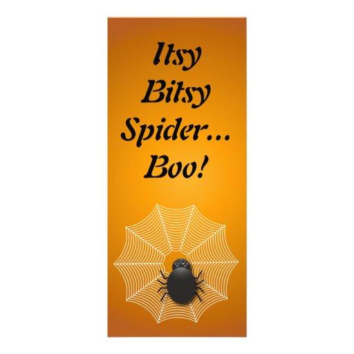 Spider on a Web - Bookmark Custom Invite